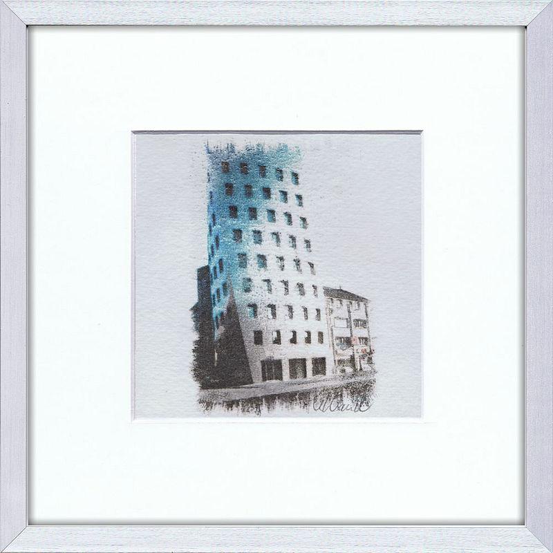 Hannover Gehry Tower Seite 8 - Artvigo Galerie Hannover Gemälde ...